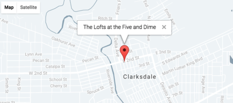 THE LOFTS AT THE FIVE AND DIME | Contact | Clarksdale, MS